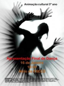 Cartaz - Apresentação Dança