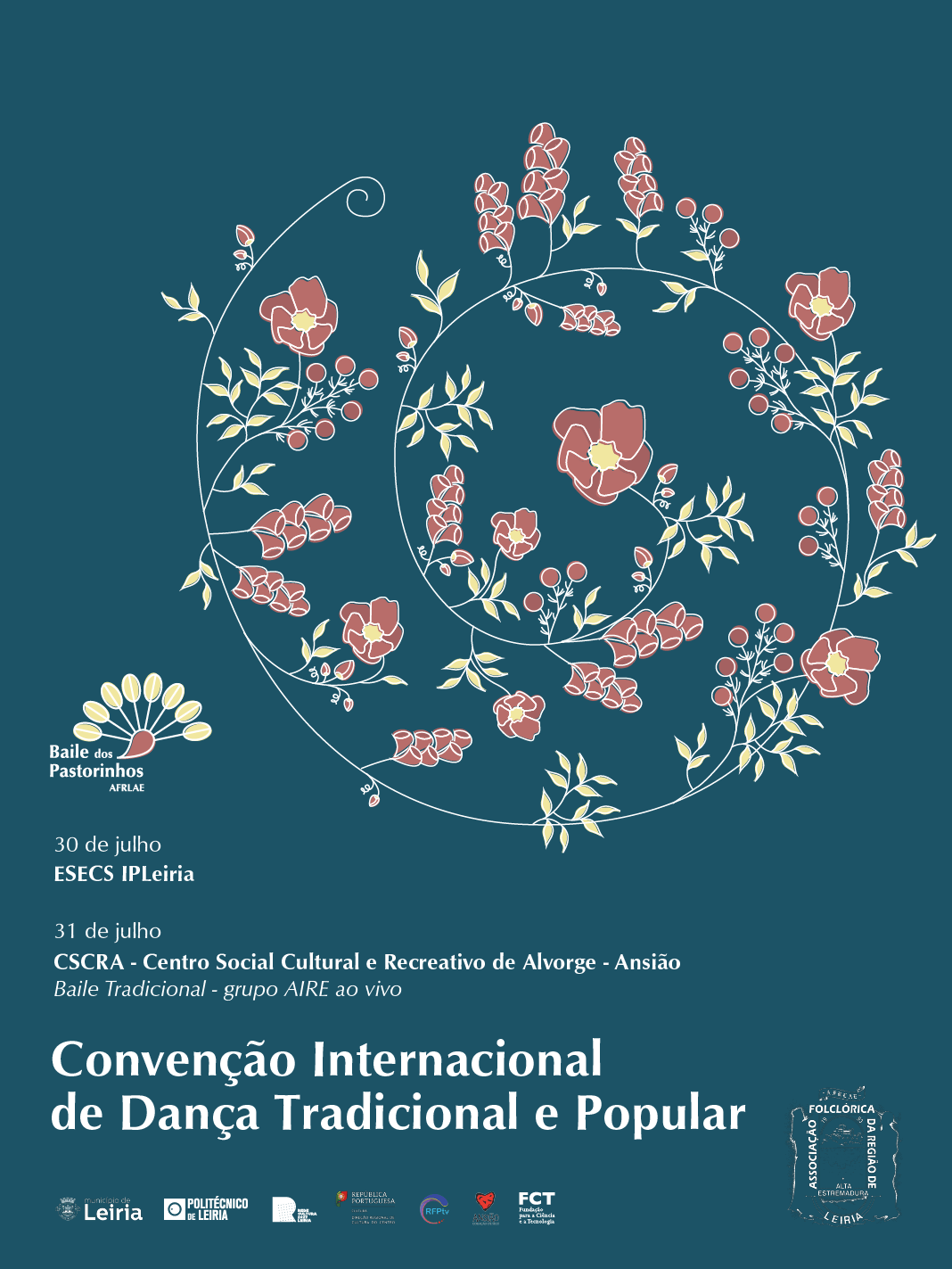 Convenção Internacional de Dança Tradicional e Popular - 30 e 31 de julho de 2021