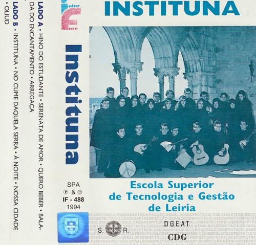 Cassete Instituna(Frente)